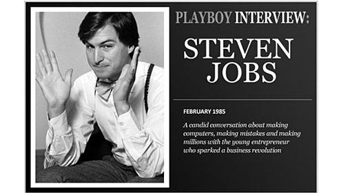 A entrevista de Steve Jobs para a Playboy