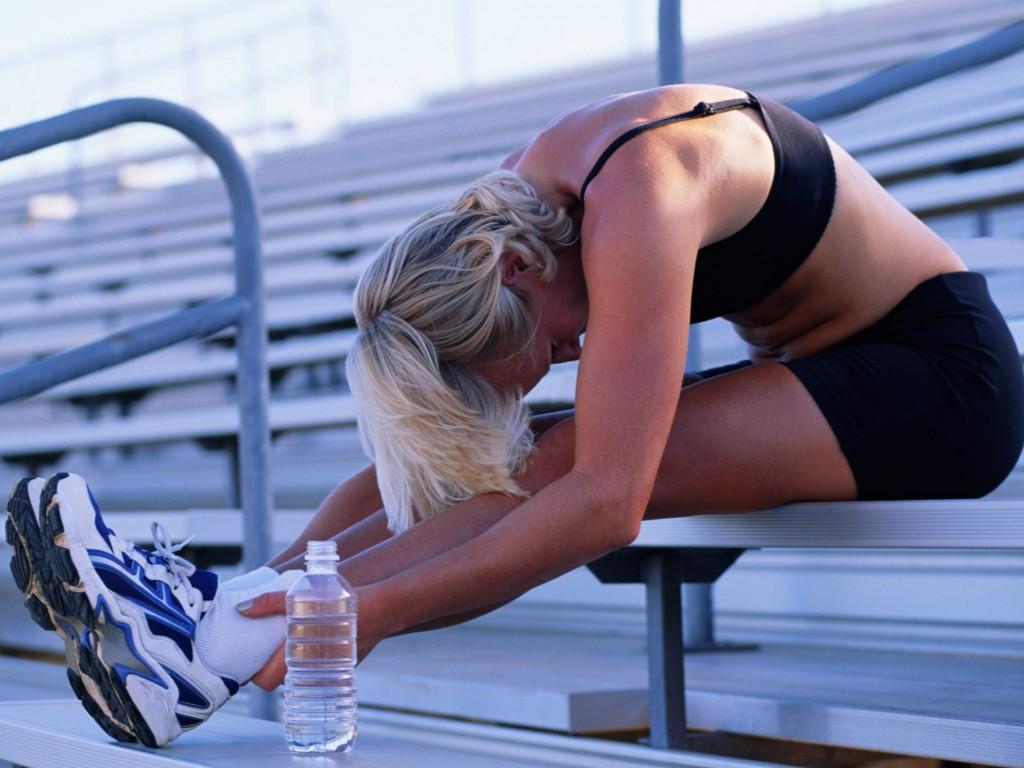 Exercícios são uma ótima maneira de começar o dia.
