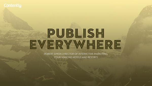 """""""Publique em todos os lugares"""" – Robert Simon"""