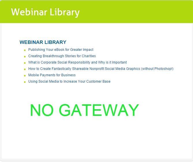 Exemplo de biblioteca de webinar sem gateway.
