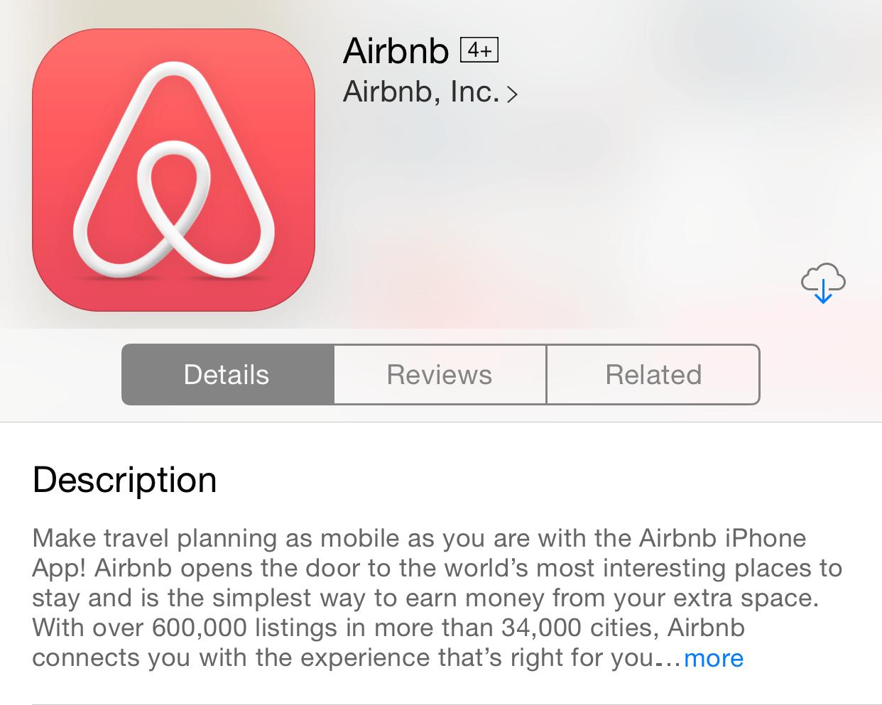 Airbnb Descrição